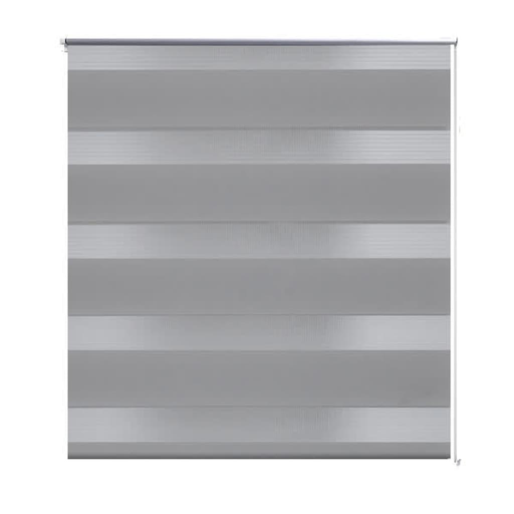 Afbeelding van vidaXL Duo rolgordijn 140 x 175 cm grijs