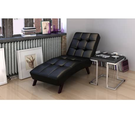la boutique en ligne divan sofa noir une place. Black Bedroom Furniture Sets. Home Design Ideas