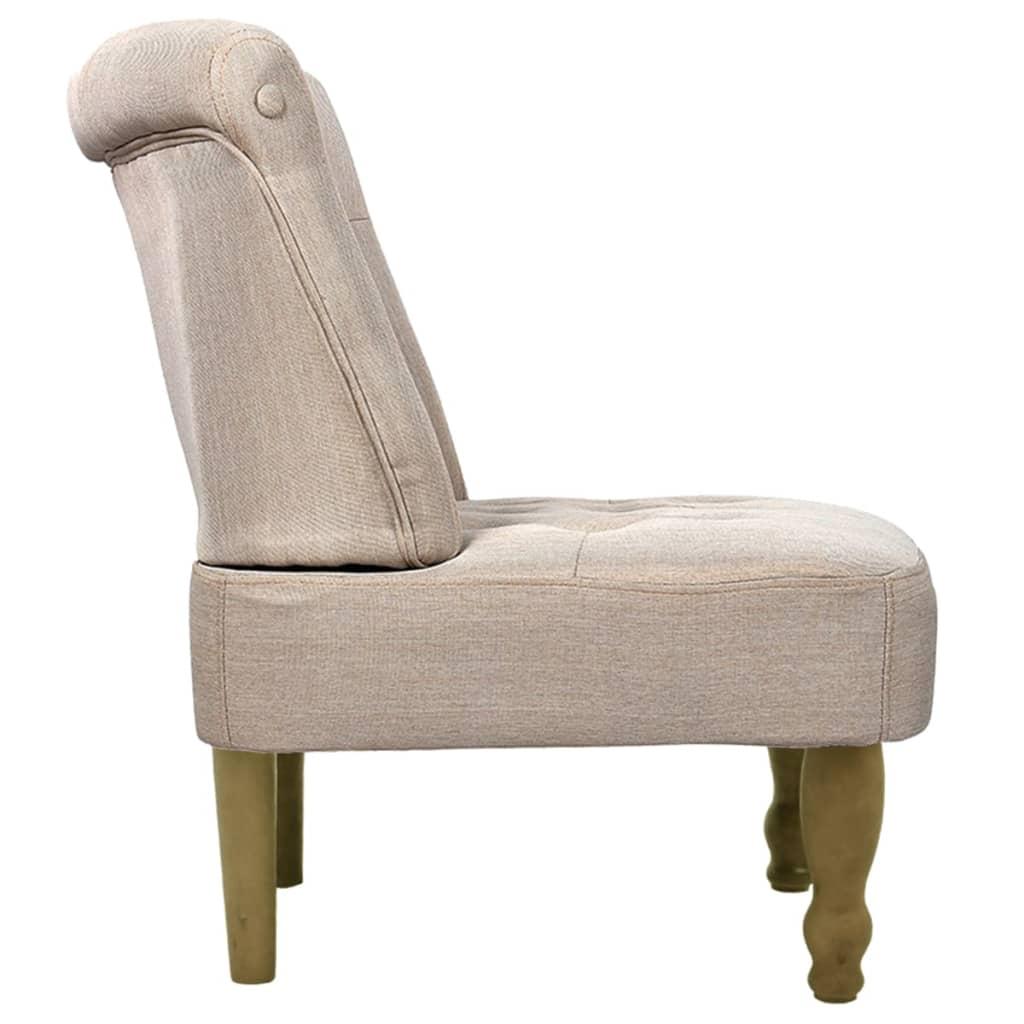 vidaxl sessel creme gefasstener gem tlicher sessel. Black Bedroom Furniture Sets. Home Design Ideas