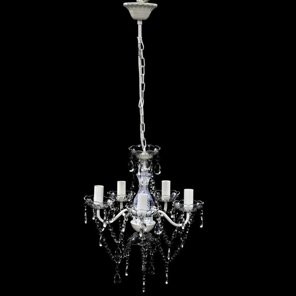 La boutique en ligne lustre en cristal transparent for Lustre en cristal