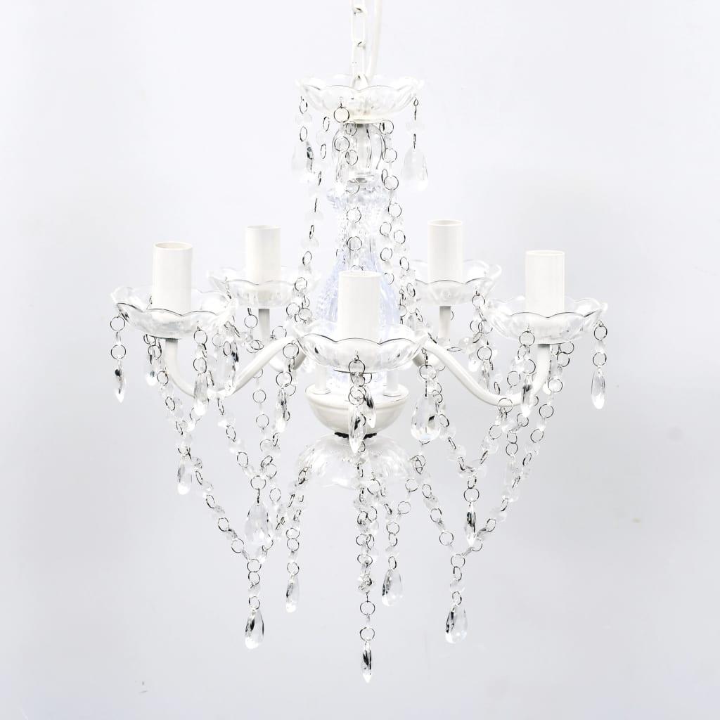 Articoli per Lampadari vetro lampadario cristalli artificiali 5 luci ...