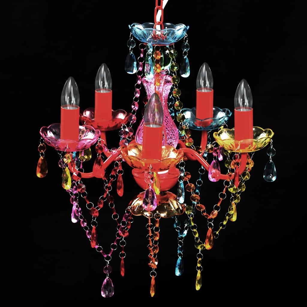 der acryl kronleuchter multi farben online shop. Black Bedroom Furniture Sets. Home Design Ideas
