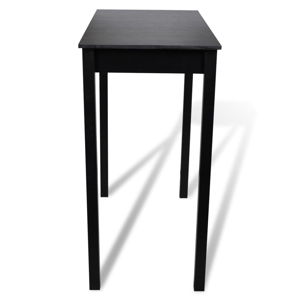 la boutique en ligne table bar table haute cuisine rectangulaire 115 x 55 x 107 cm. Black Bedroom Furniture Sets. Home Design Ideas