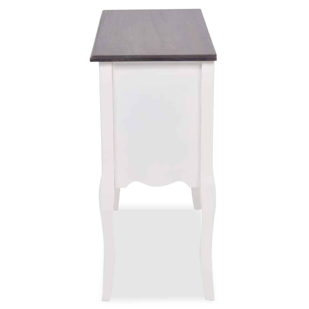 kommode holz wei inkl 6 schubladen g nstig kaufen. Black Bedroom Furniture Sets. Home Design Ideas