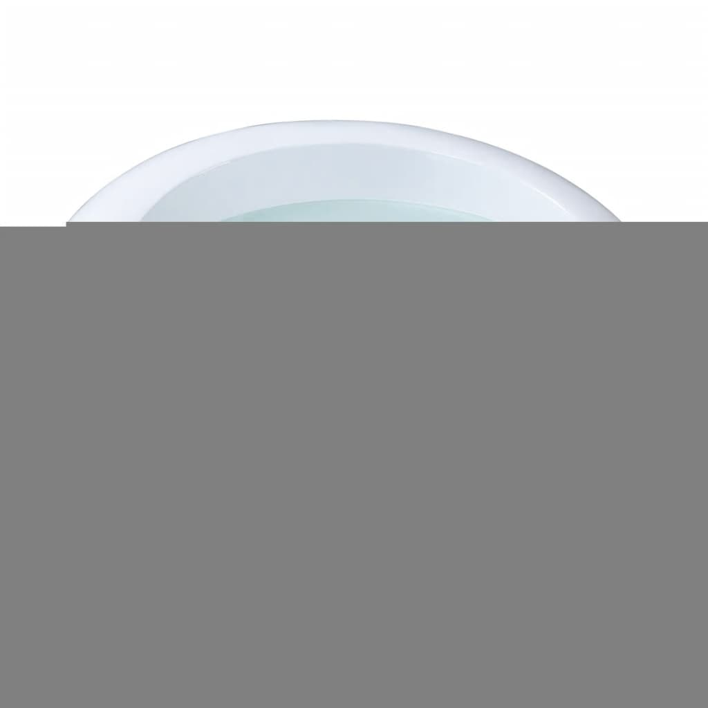 La boutique en ligne table basse ronde blanche for Table ronde blanche