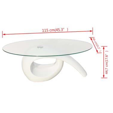 der couchtisch beistelltisch kaffeetisch tisch glasplatte. Black Bedroom Furniture Sets. Home Design Ideas