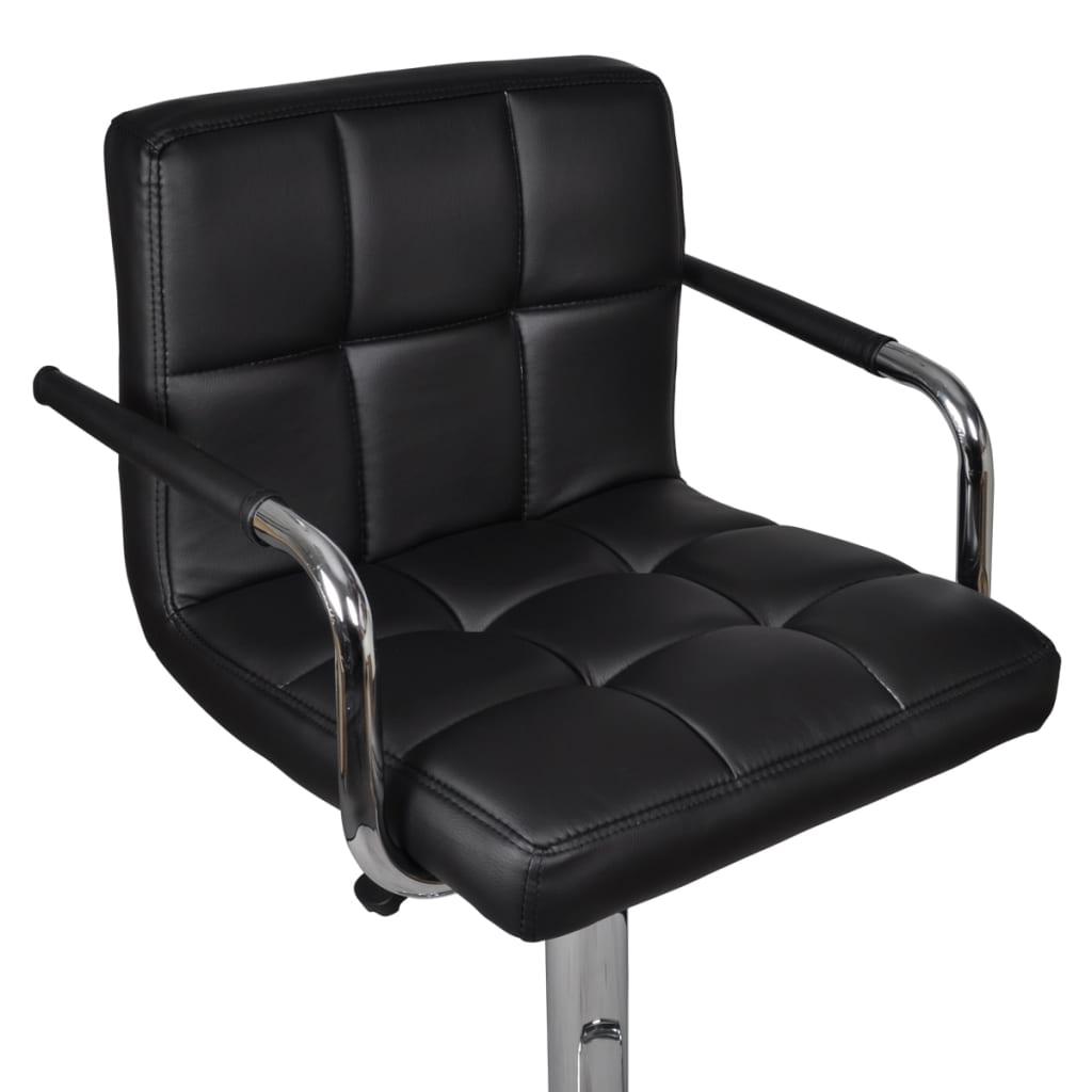 2 x barhocker bar stuhl schwarz mit armlehne g nstig for Stuhl mit armlehne schwarz