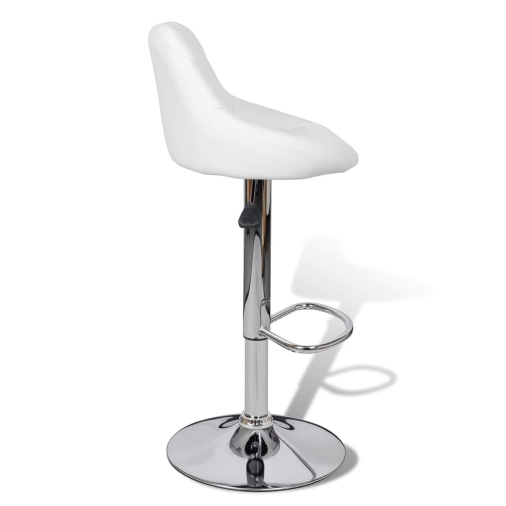 Barstühle Weiß der 2 x barhocker barstühle weiß shop vidaxl de