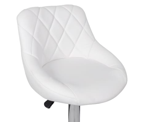 Barstühle Weiß 2 x barhocker barstühle weiß im vidaxl trendshop vidaxl ch