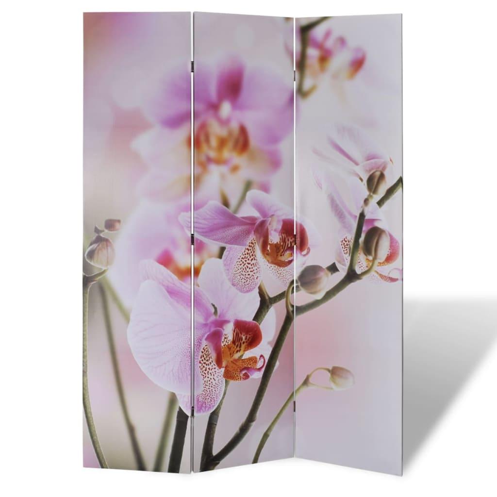 Rumsavdelare 120×180 cm blommor