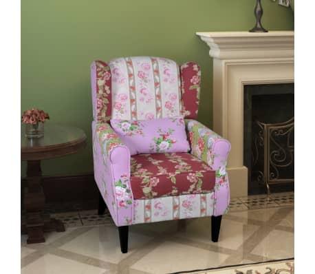 der patchwork sessel relaxsessel bunt baumwollbezug online. Black Bedroom Furniture Sets. Home Design Ideas