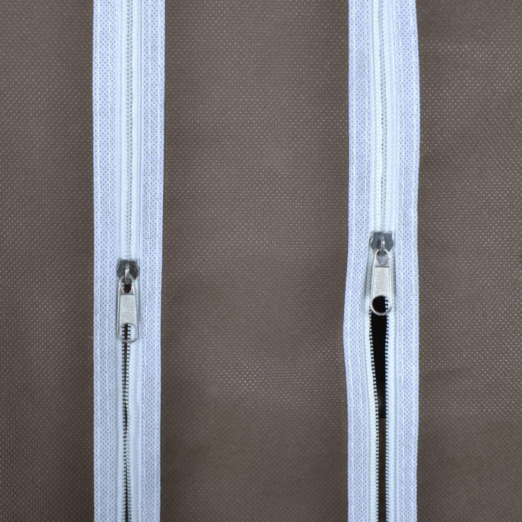 kleiderschrank faltschrank 45 x 150 x176 cm braun g nstig kaufen. Black Bedroom Furniture Sets. Home Design Ideas