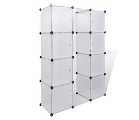 schuhregal kleiderschrank garderobe 9 schubladen wei im vidaxl trendshop. Black Bedroom Furniture Sets. Home Design Ideas