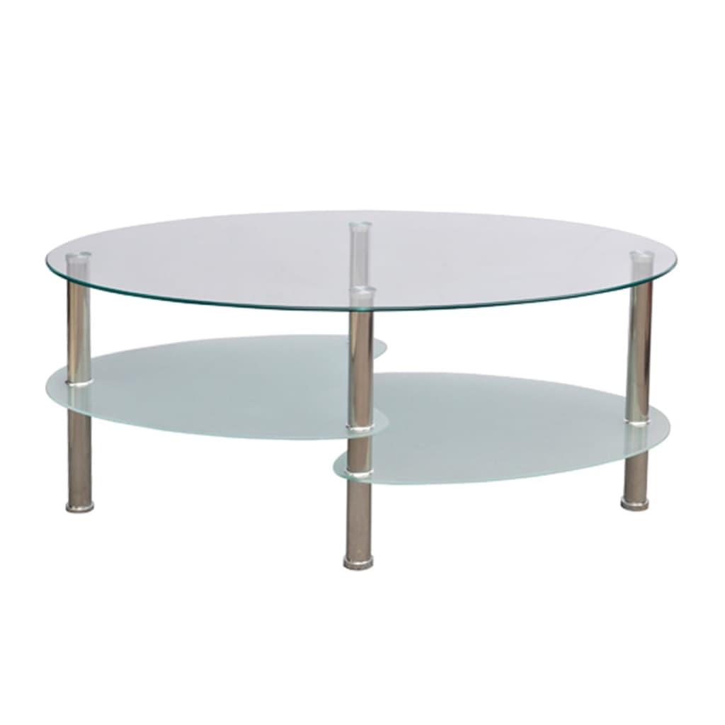 Table basse de salon blanche