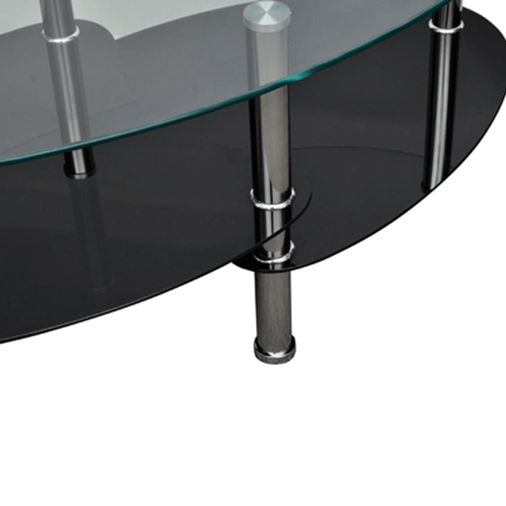 Coffee table exclusive 3 layer design black Exclusive coffee tables