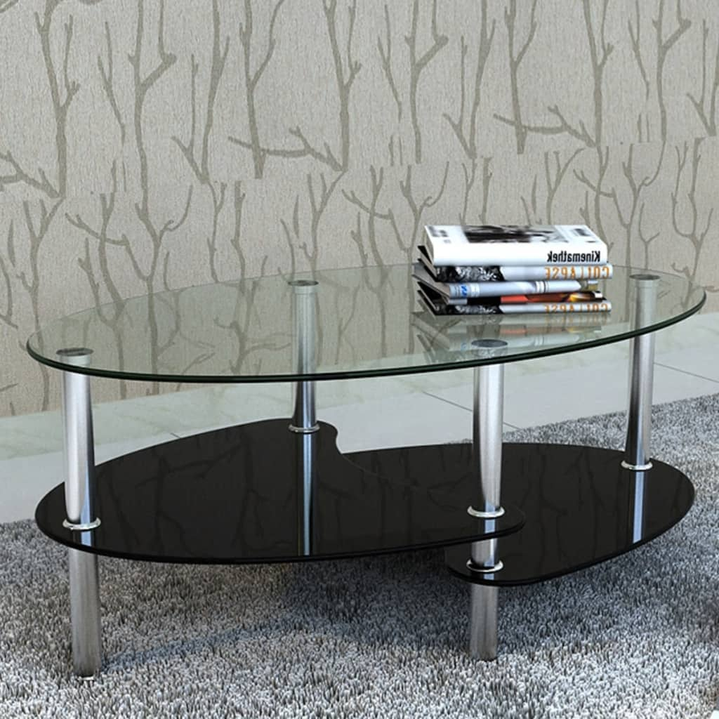La boutique en ligne table de salon table basse noire barcelone - Salon sans table basse ...