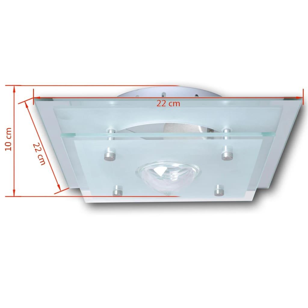 Der deckenleuchte wandleuchte badlampe glas lampe for Deckenlampe e27