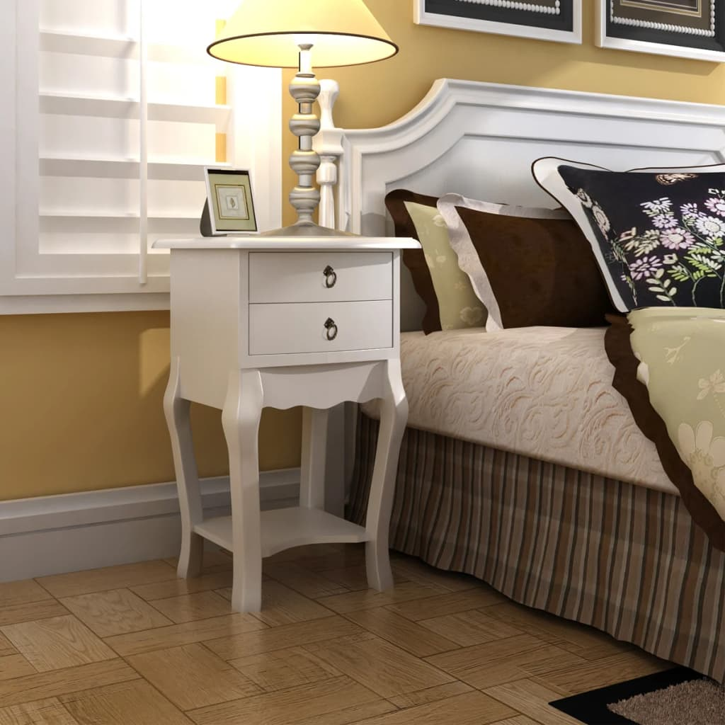 Telephone cabinet bedside cabinet 2 drawers - Tables de chevet originales ...