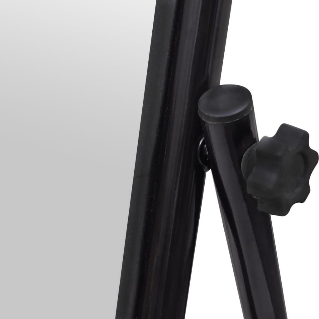 La boutique en ligne miroir en fer sur pied noir Miroir fer noir