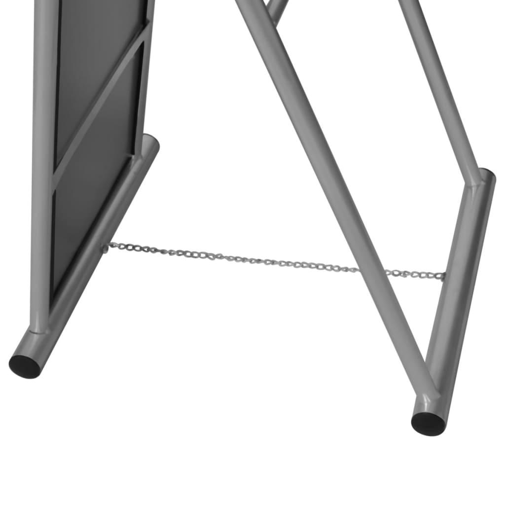 Espejo de pie cuerpo entero rectangular gris tienda online for Espejos de pie online