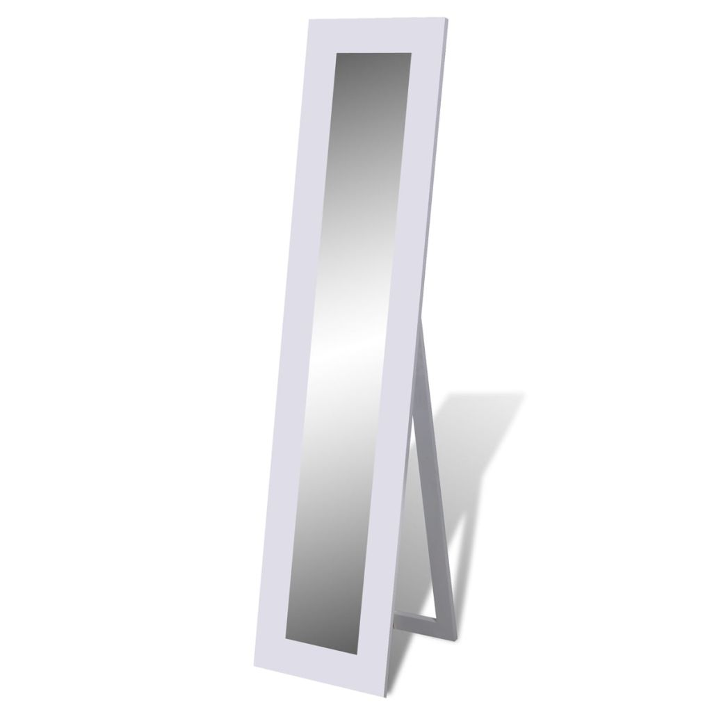 New free standing mirror full length dresser dressing for Black floor length mirror