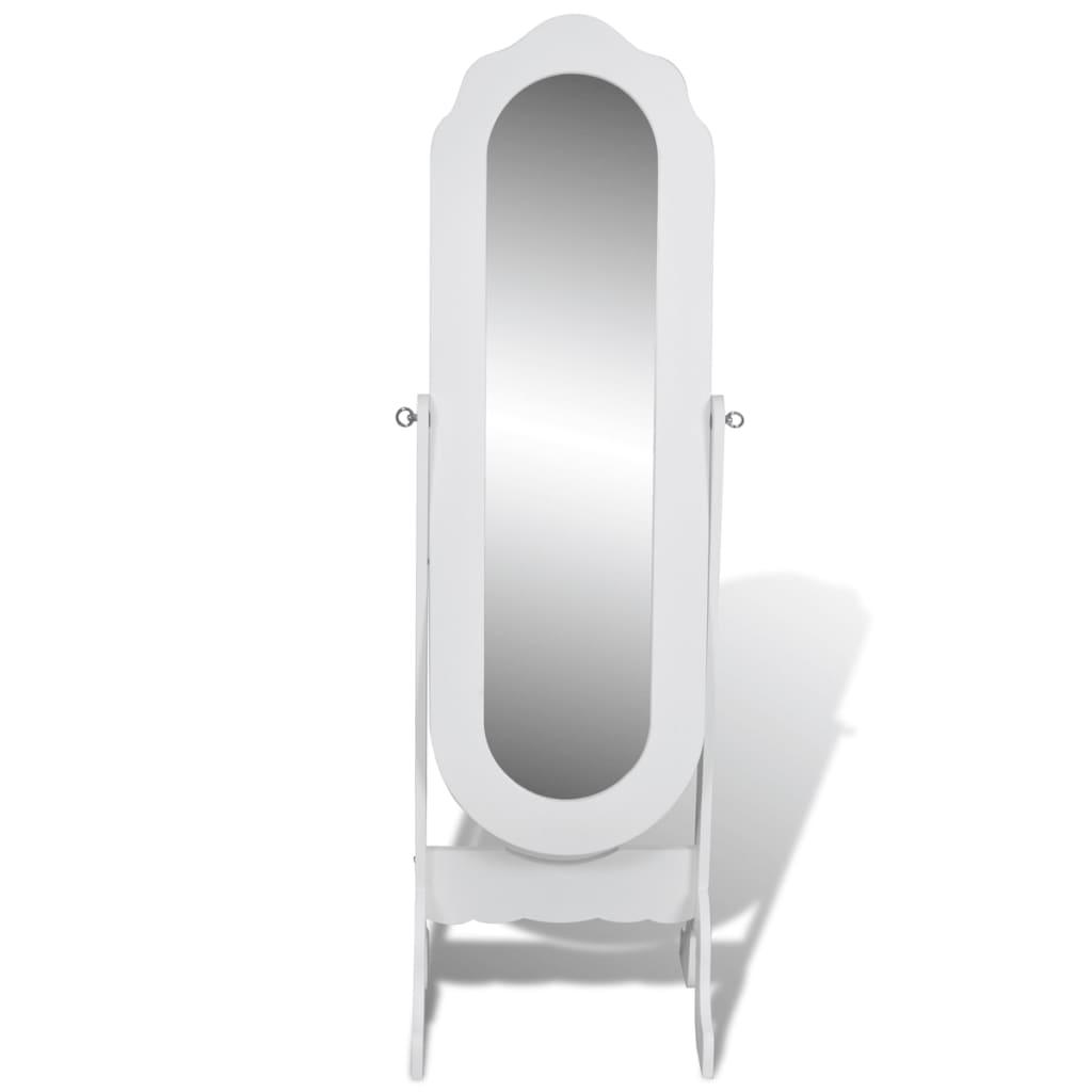 New Free Standing Mirror Full Length Dresser White Floor Mirror ...