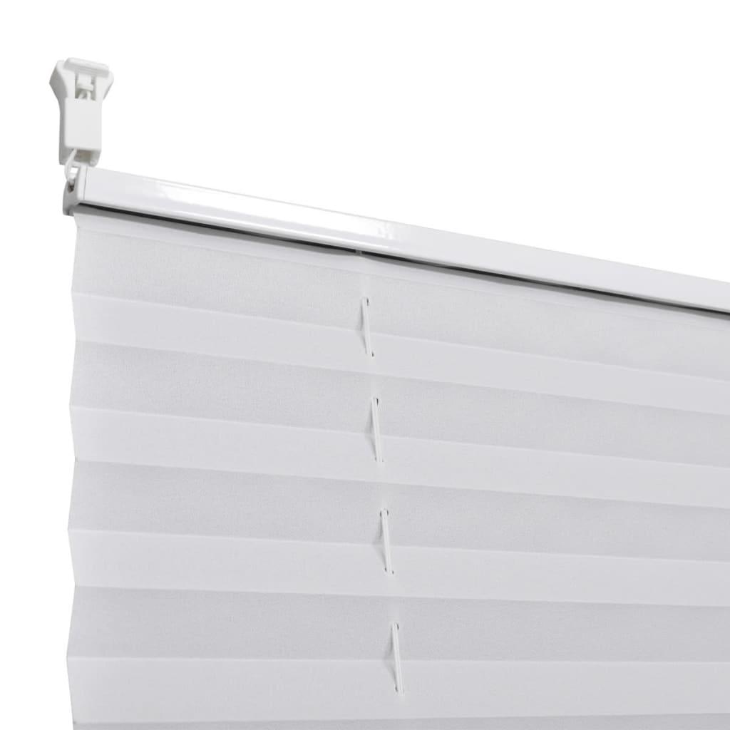 plissee faltrollo rollo plisseerollo 40x100cm wei g nstig kaufen. Black Bedroom Furniture Sets. Home Design Ideas