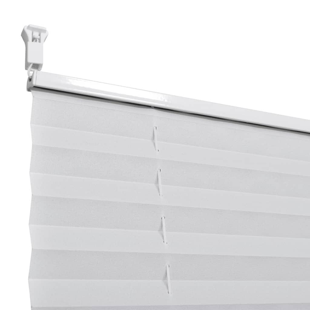 plissee faltrollo rollo jalousie plisseerollo klemmen 80x100cm wei g nstig kaufen. Black Bedroom Furniture Sets. Home Design Ideas