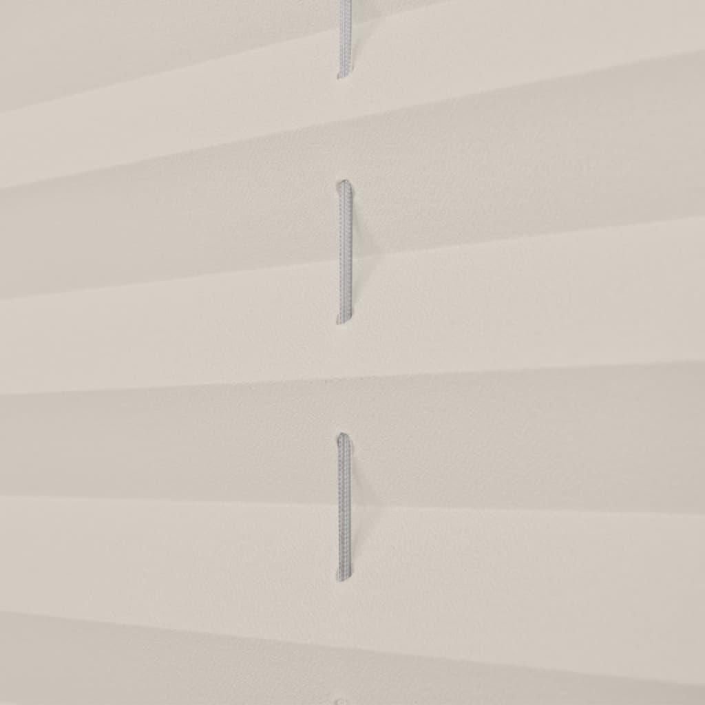 der plissee rollo jalousie plisseerollo 90x150cm creme online shop. Black Bedroom Furniture Sets. Home Design Ideas