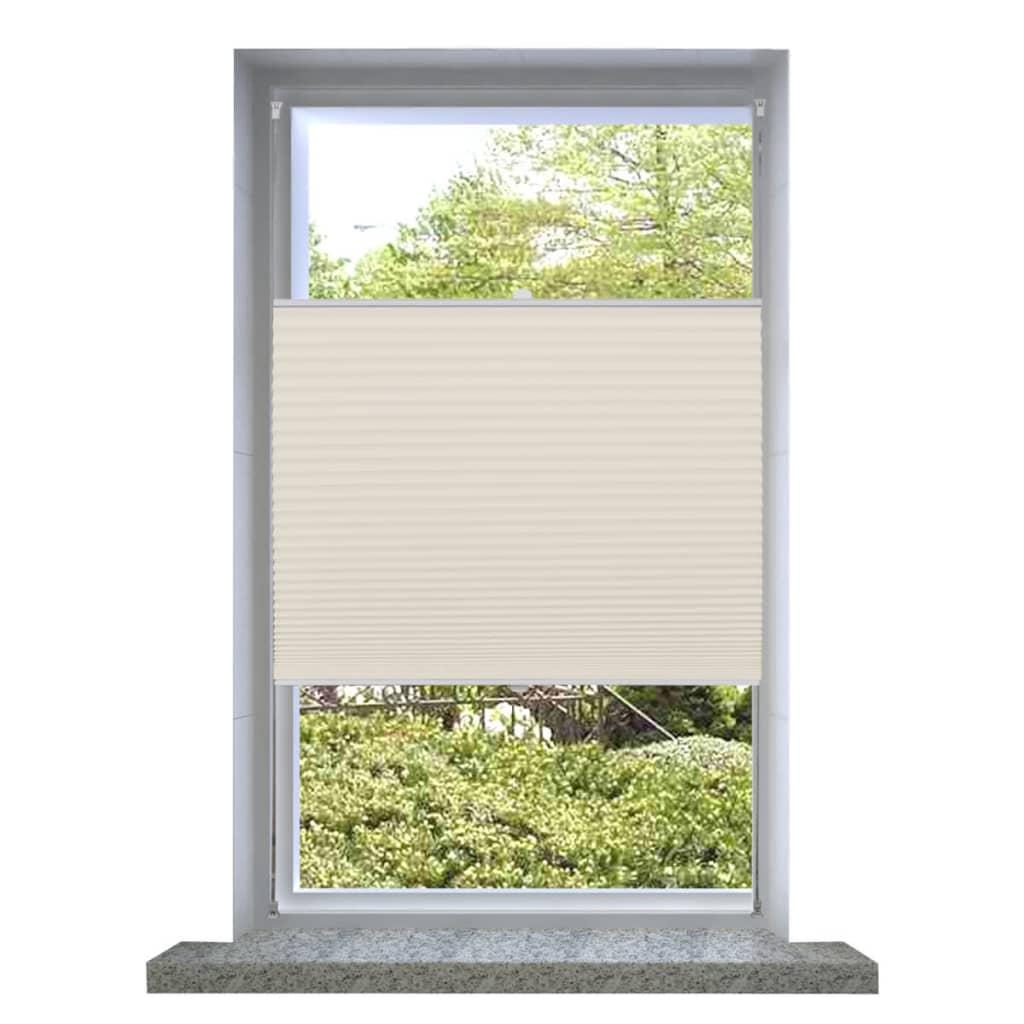 vidaXL-Plise-para-Ventana-Persiana-90x150cm-Crema-Decoracion-Cortinas-ventana
