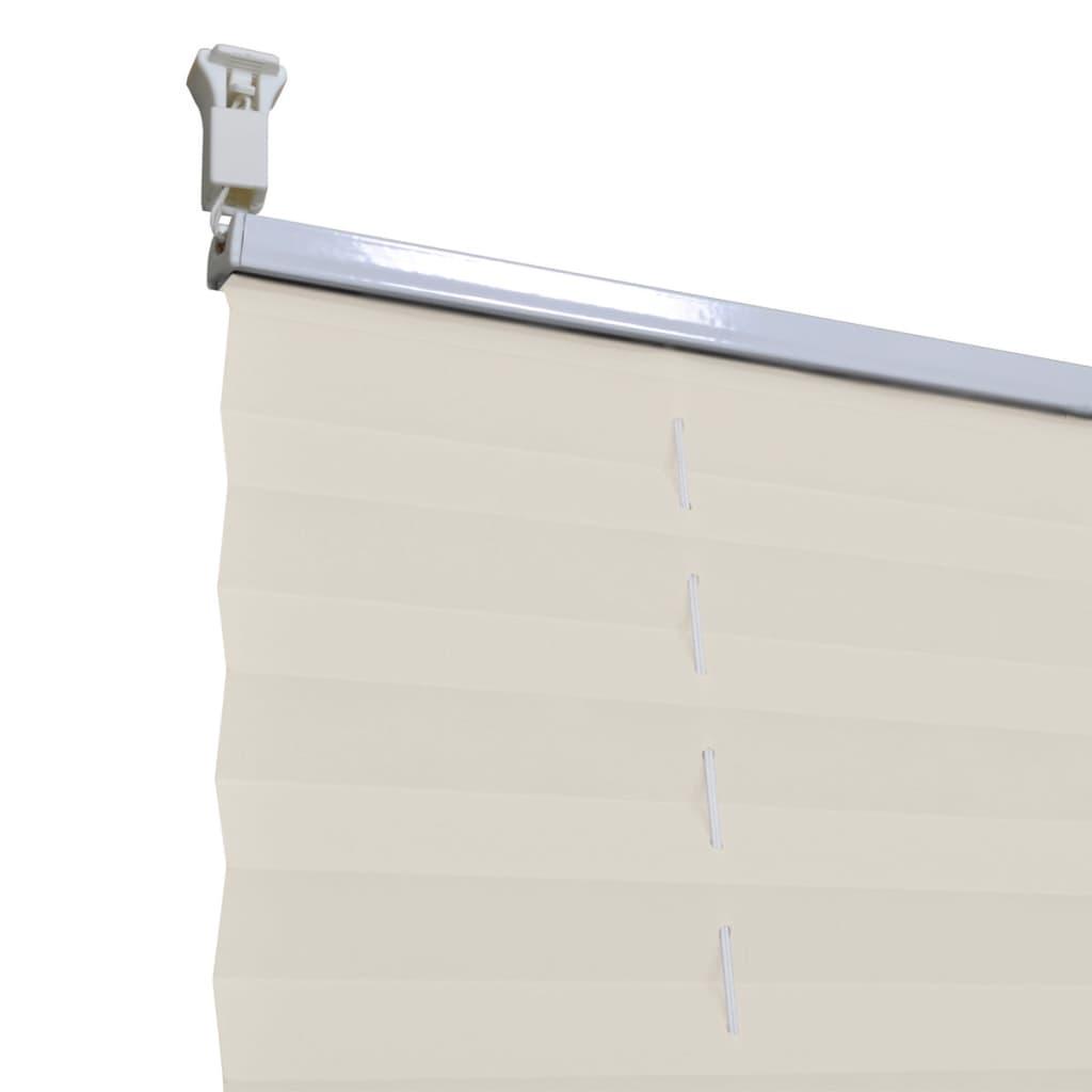vidaXL-Plise-para-Ventana-Persiana-110x125cm-Crema-Decoracion-Cortinas-ventana