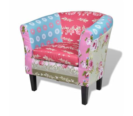 la boutique en ligne fauteuil design flora patchwork multi couleur. Black Bedroom Furniture Sets. Home Design Ideas