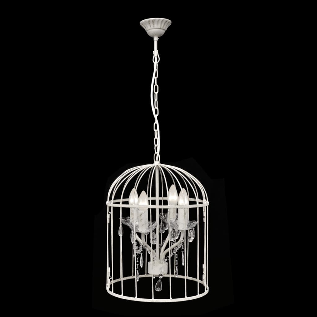 la boutique en ligne lampe suspendue en forme de cage oiseau. Black Bedroom Furniture Sets. Home Design Ideas