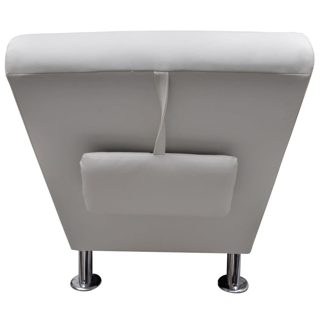 La boutique en ligne chaise longue blanche avec 2 pieds et for Chaises longues blanches