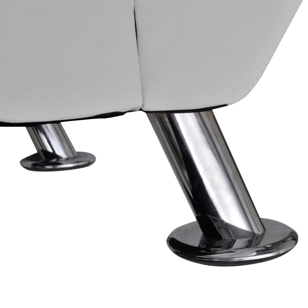 la boutique en ligne chaise longue blanche avec 2 pieds et appui t te. Black Bedroom Furniture Sets. Home Design Ideas