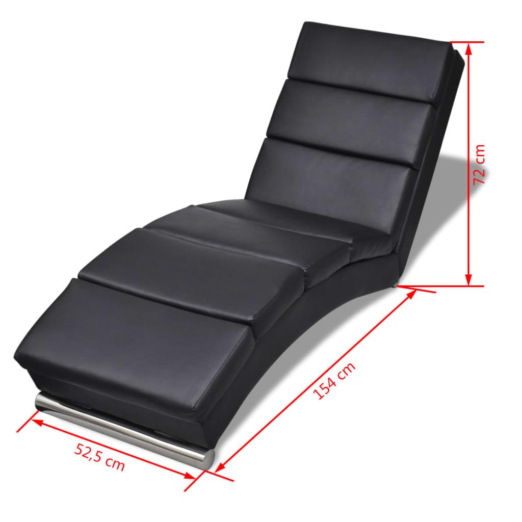 Acheter chaise longue noire pas cher for Chaise longue solde