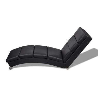 La boutique en ligne chaise longue noire for Chaise longue solde