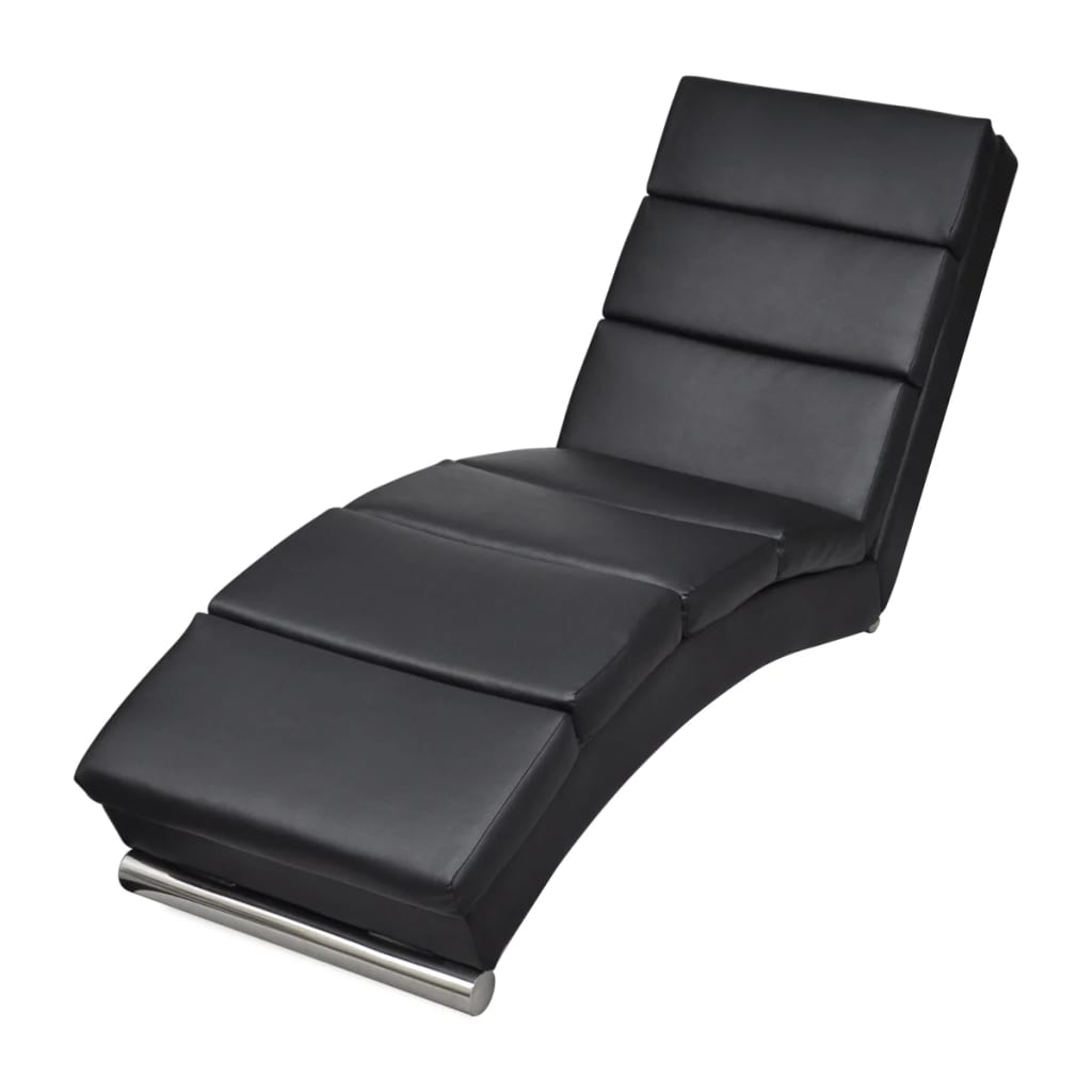 relaxliege chaiselongue liegesessel lounge liege ruhesessel schwarz g nstig kaufen. Black Bedroom Furniture Sets. Home Design Ideas