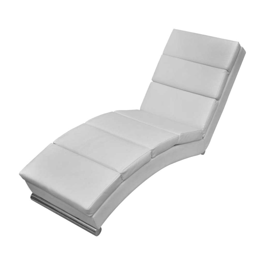 Acheter chaise longue blanche pas cher for Chaise blanche solde