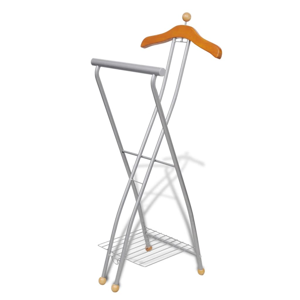 vidaxl co uk valet stand clothing rack organizer metal frame