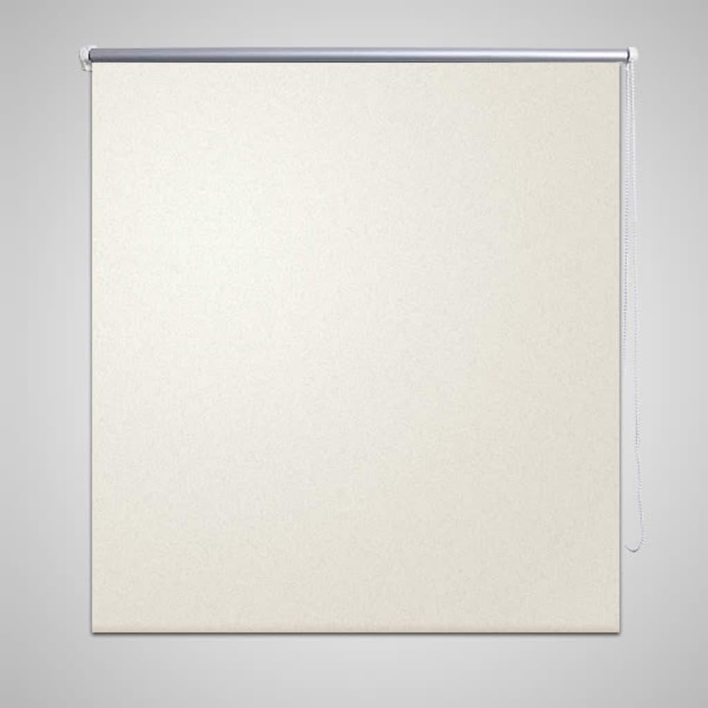 vidaXL Store enrouleur occultant crème 40 x 100 cm Le store enrouleur occultant est idéal pour les pièces nécessitant le n