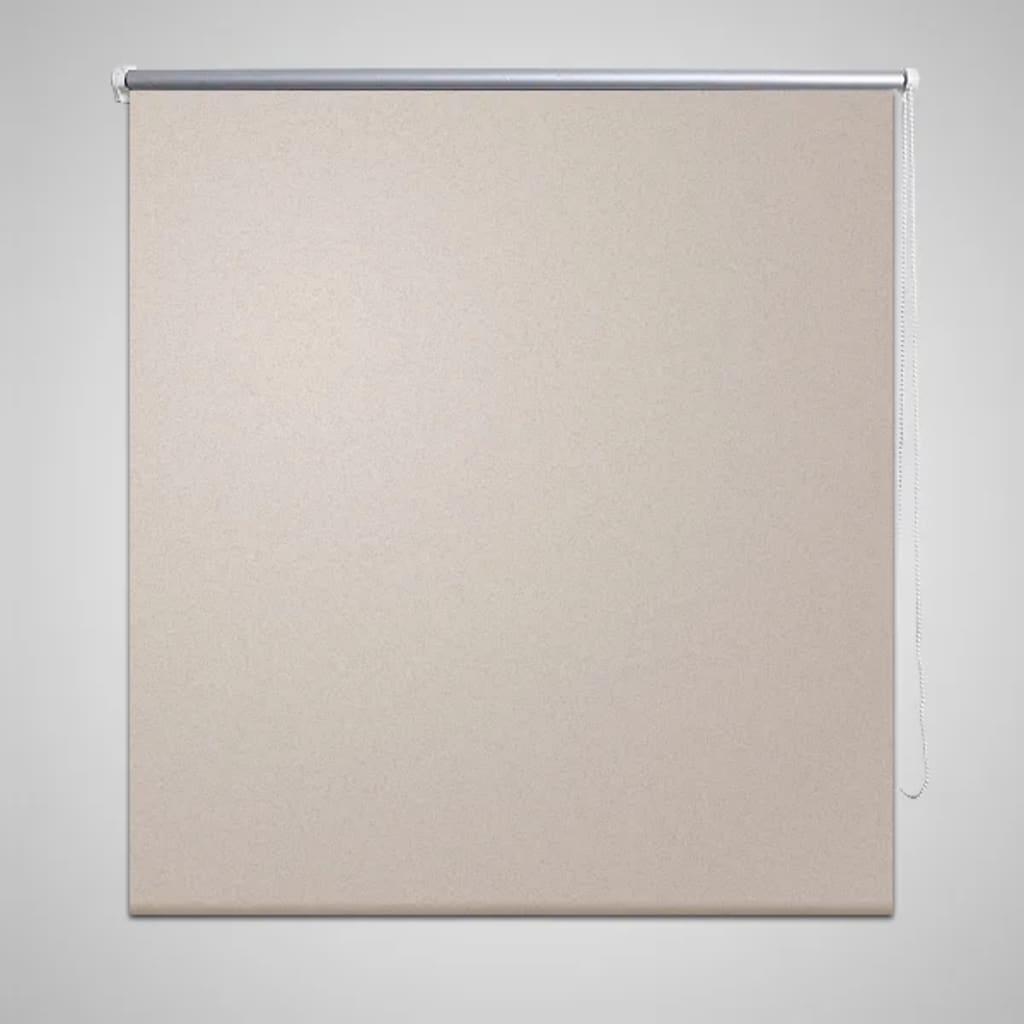 Rolgordijn verduisterend 40 x 100 cm beige rol gordijn gordijnen gordijntje