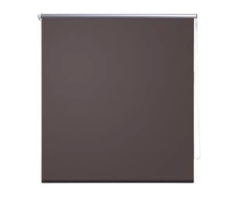 store enrouleur occultant marron 40 x 100 cm. Black Bedroom Furniture Sets. Home Design Ideas