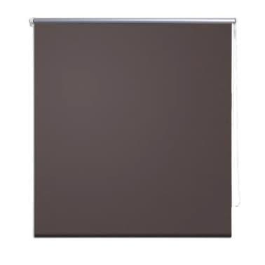 acheter store enrouleur occultant marron 40 x 100 cm pas cher. Black Bedroom Furniture Sets. Home Design Ideas