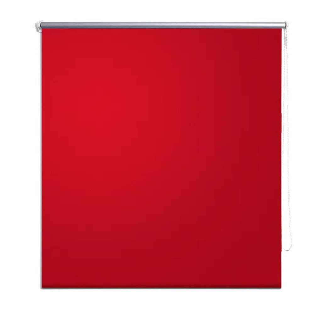 Vidaxl Co Uk Roller Blind Blackout 60 X 120 Cm Red