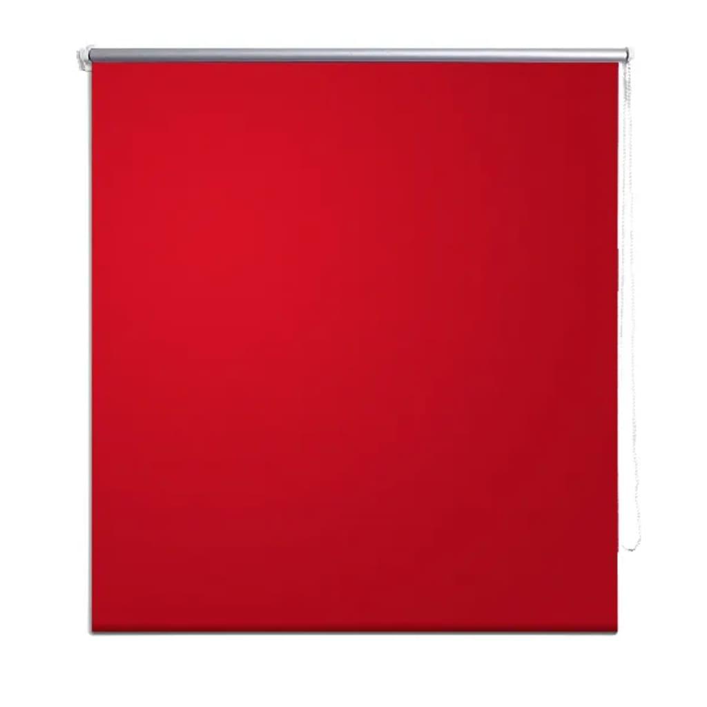 Acheter store enrouleur occultant rouge 60 x 120 cm pas for Store enrouleur exterieur pas cher