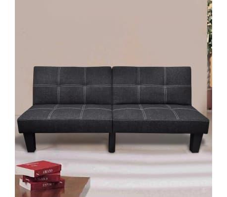 la boutique en ligne canap lit convertible noir. Black Bedroom Furniture Sets. Home Design Ideas
