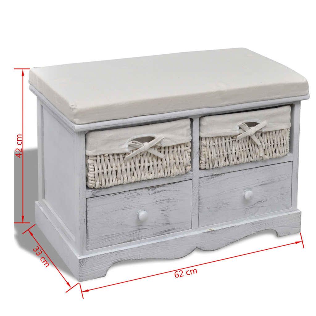 der kommode schrank truhenbank schubladenschrank wei. Black Bedroom Furniture Sets. Home Design Ideas