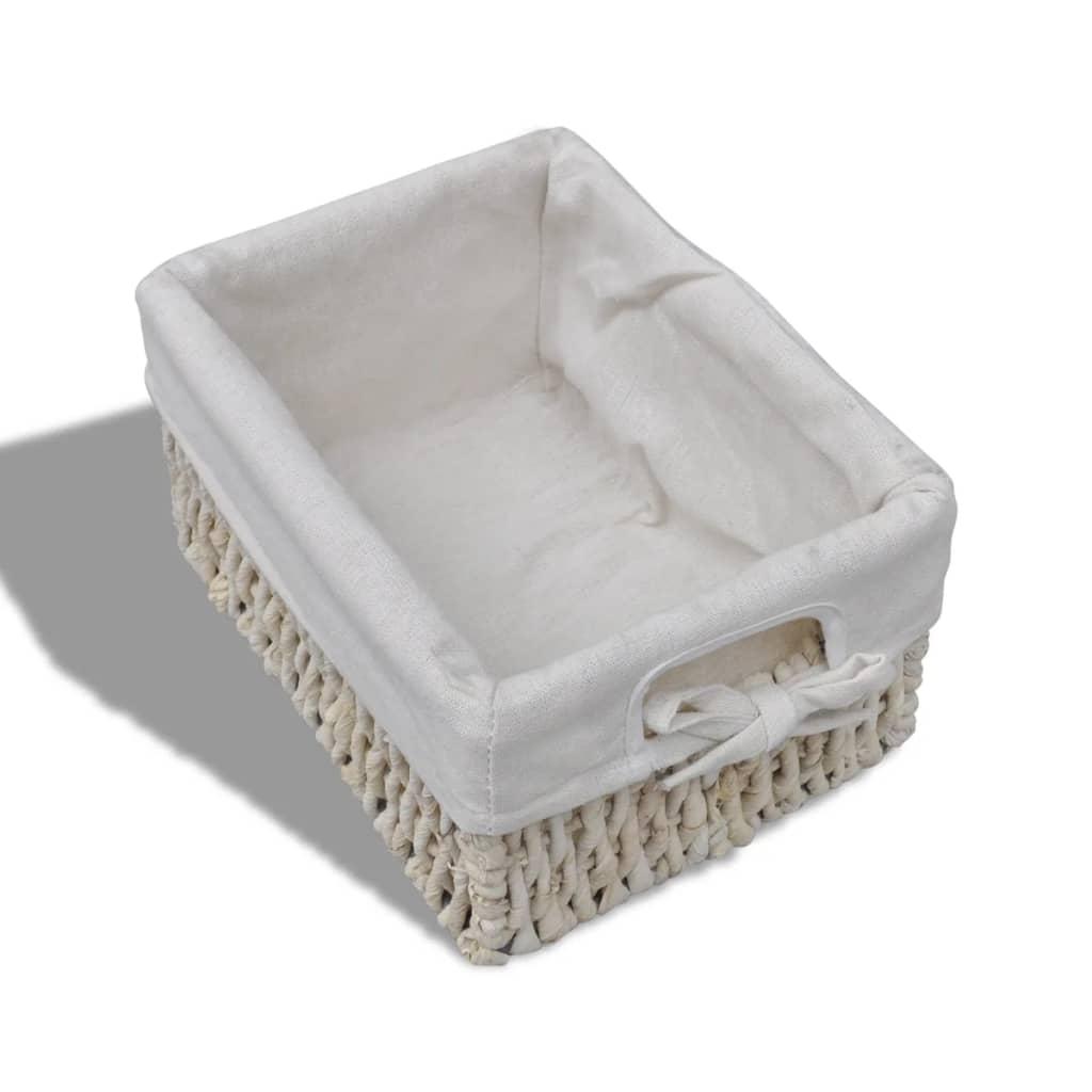 Cajonera blanca de madera con 5 cestas for Cajonera blanca barata