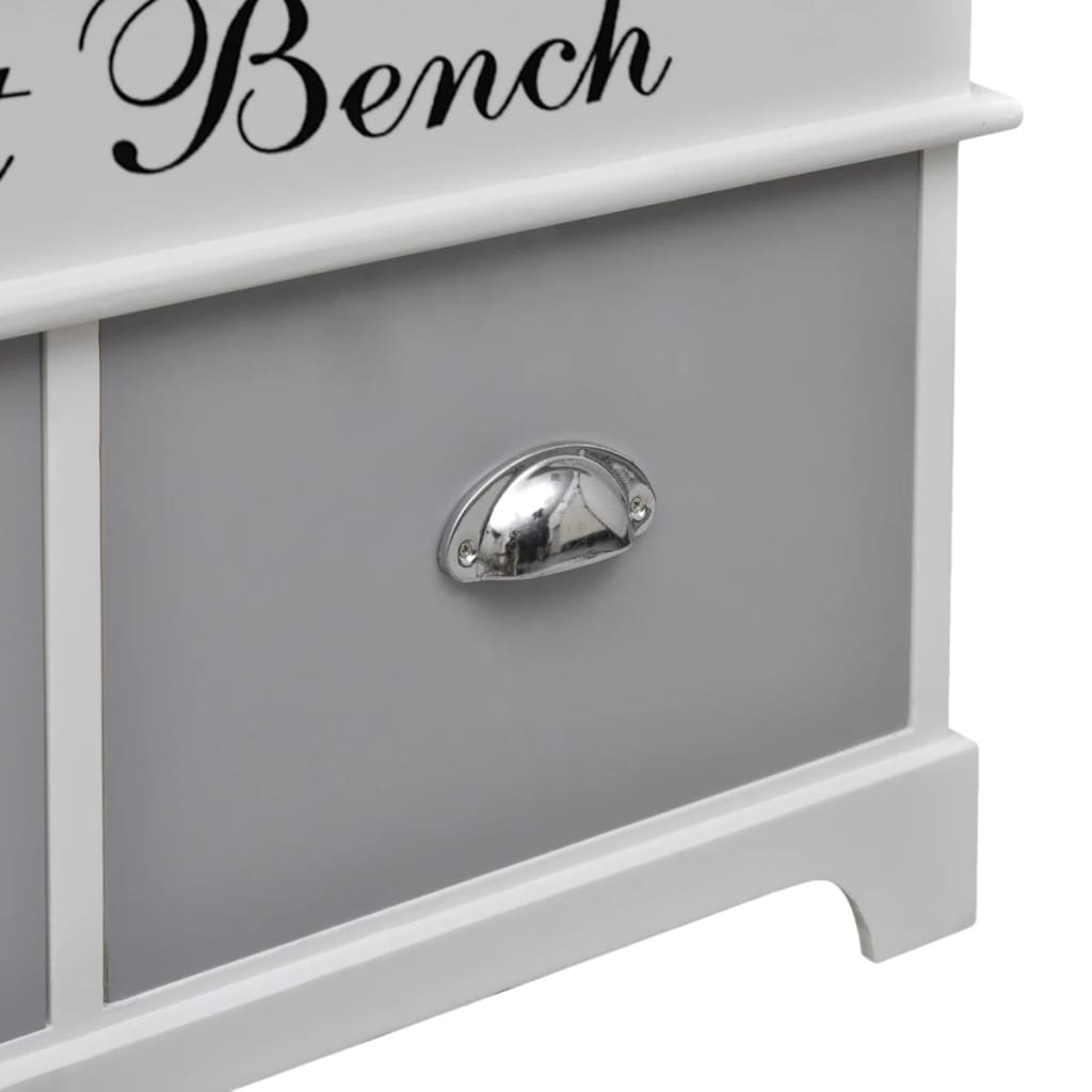 la boutique en ligne banc de rangement avec 2 tiroirs. Black Bedroom Furniture Sets. Home Design Ideas